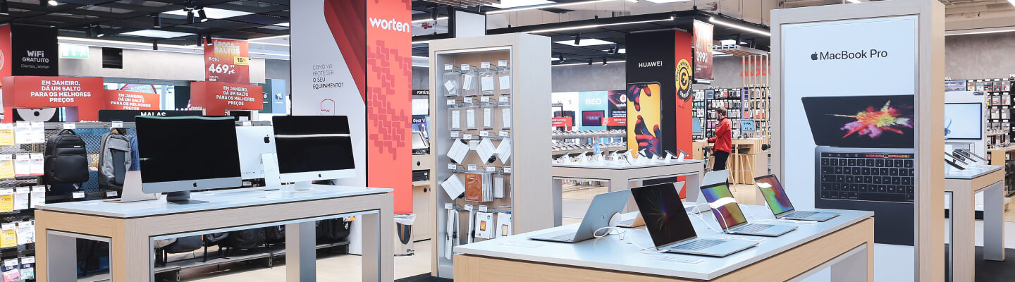 Worten - case study service design - Worten store